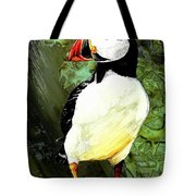 Stud Puffin Tote Bag
