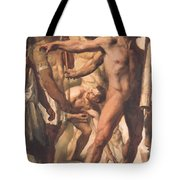 Study For The Martyrdom Of St Symphorien 1834  Tote Bag