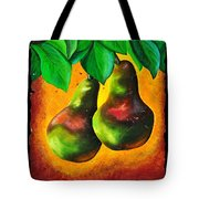 Study Of Two Pears Tote Bag