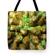 Stuffed Vine Leafs  Tote Bag