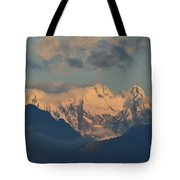 Stunning Landscape View Of The Italian Alps  Tote Bag