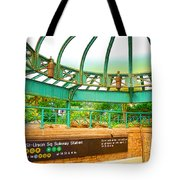 Subway Station 2 Tote Bag