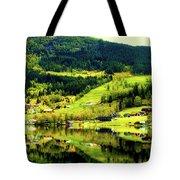 Summer In Norway Tote Bag