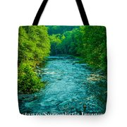 Summer Stream Tote Bag