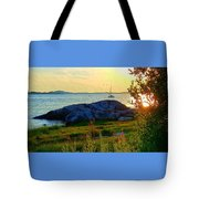 Summer Sunset View Tote Bag