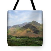 Summer, The Newlands Valley, Lake District National Park Tote Bag