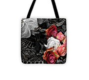 Sundial Bouquet Tote Bag