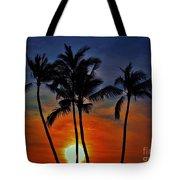 Sunlit Palms Tote Bag
