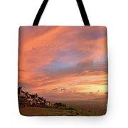 Sunrise At Tagaytay Highland Tote Bag