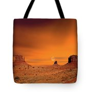 Sunrise Monument Valley Tote Bag