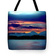 Sunrise Over Uruguay Tote Bag
