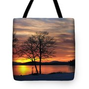 Sunrise Winnipesaukee Tote Bag