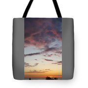 Sunrise With Clouds Il Tote Bag