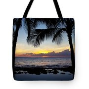 Sunset - Oahu West Shore Tote Bag