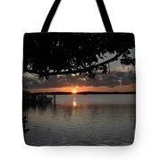 Sunset At Islamorada Tote Bag