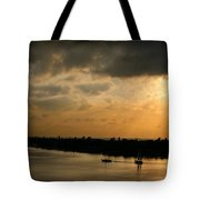 Sunset At Pass A Grille Florida Tote Bag