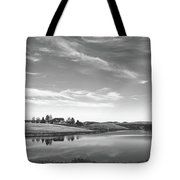 Sunset Clouds Over Wyoming Tote Bag