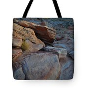 Sunset Comes To Valley Of Fire Tote Bag