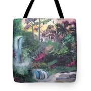 Sunset Falls Tote Bag