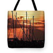 Sunset In Masts, South Fl. Tote Bag