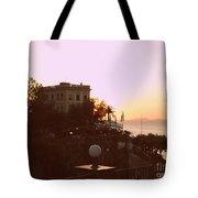 Sunset In Sorrento Tote Bag