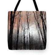 Sunset In The Mountains Tote Bag