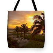 Sunset On Grace Bay Tote Bag