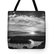 Sunset On The Niangua Tote Bag