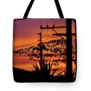 Sunset Sihouettes Tote Bag