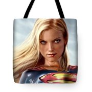 Supergirl Collection Tote Bag