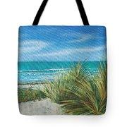 Surf Beach Tote Bag