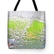 Surfer Green Tote Bag