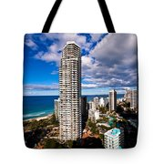 Surfers Paradise View Tote Bag