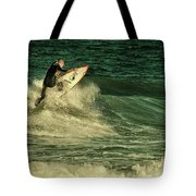 Surfing - Jersey Shore Tote Bag