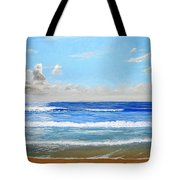 Surfside Morning Tote Bag