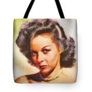 Susan Hayward, Vintage Hollywood Actress Tote Bag