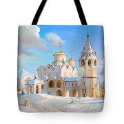 Suzdal. Pokrov Cathedral Tote Bag