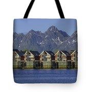 Svolvaer Norway Tote Bag