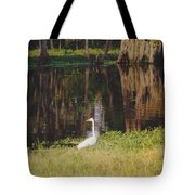 Swamp Bird Tote Bag