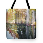 Swamp Reflection Tote Bag