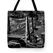 Swan Creek Footbridge Tote Bag