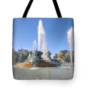 Swann Fountain - Center City Philadelphia Tote Bag