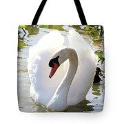 Sweet Swan 2 Tote Bag