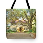 Swiss Avenue Historic Mansion Dallas Texas Tote Bag