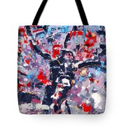 Symphony No 8 Movement 22 Vladimir Vlahovic- Images Inspired By The Music Of Gustav Mahler Tote Bag
