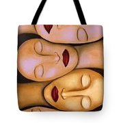 Synchronized Meditation Tote Bag