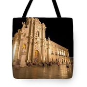 Syracuse, Sicily, Italy - Ortigia Downtown In Syracuse By Tote Bag