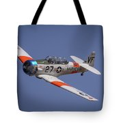 T6 At Reno Air Races Tote Bag by John King