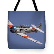 T6 At Reno Air Races Tote Bag