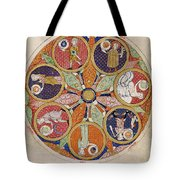 Table Of Planets Tote Bag